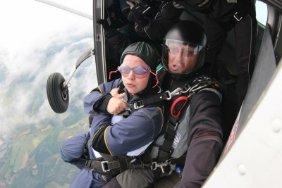 Claire's Skydive Challenge - 2015