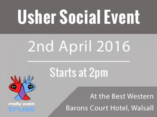 2nd April 2016 - West Midlands Usher/RP Social Event