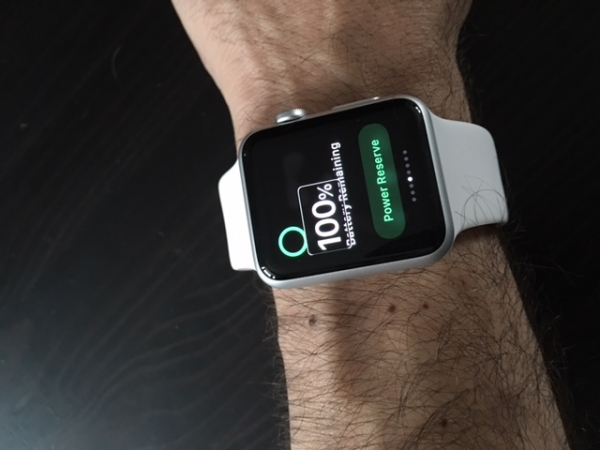 Applewatch for Award Winning Paraclimber John Churcher
